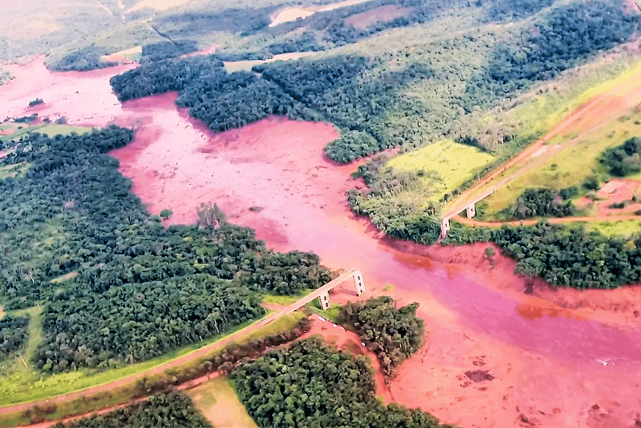 6. River of Blood: Dam burst in Brazil