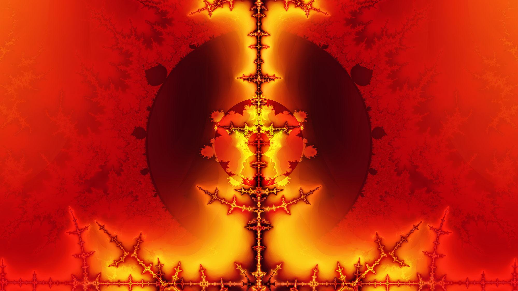 Bible fractal of the rod of God