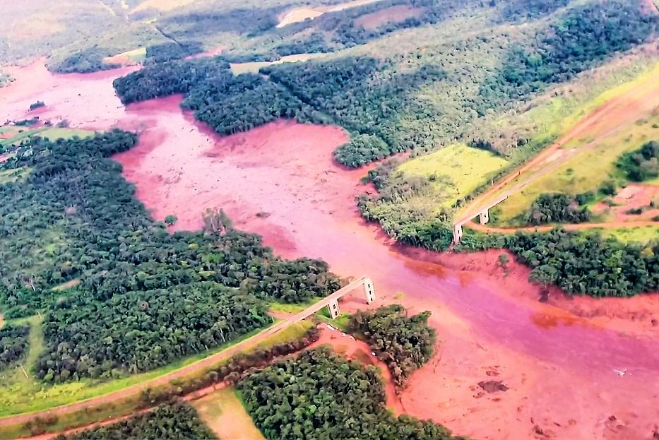 6. River of Blood: Dam burst in Brazil