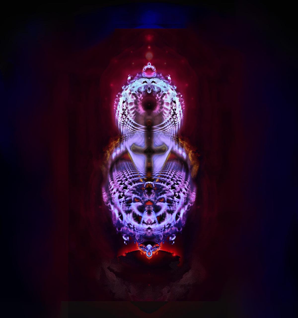 "Christobrot fractal (replacing the so-called ""Buddhabrot"""